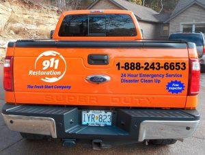 Fire Restoration Response Truck