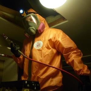 Sewage Backup technician