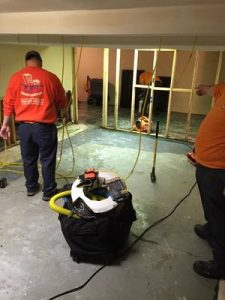 Fire Damage Restoration Technicians