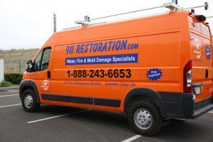 911-restoration-water-damage-mold-remediation-fire-damage-van